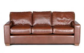 City Craft Leather Sofa Riley s Real Wood Furniture
