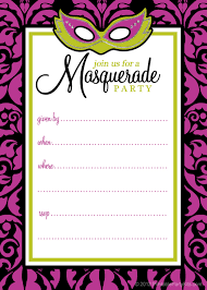 masquerade party invitation template com masquerade ball invitation templates cloudinvitation