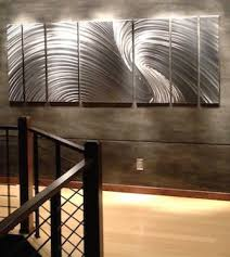wall art ideas design large steel oversized metal wall art home decorations minimalist stained varnished silver radiant wooden canvas top custom made  on metal wall art big with wall art ideas design large steel oversized metal wall art home