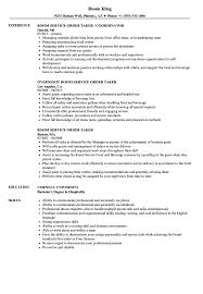 resume order of jobs room service order taker resume samples velvet jobs