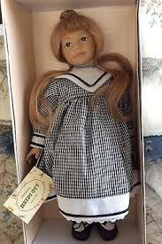 "Heidi Ott ""Priscilla"" Little Ones Series Swiss Design Female Doll 