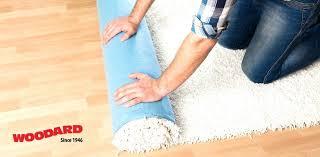 no rug pad for carpet sticky side