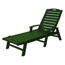 Trex Outdoor Furniture Recycled Plastic Yacht Club Chaise with