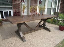 mesmerizing homemade kitchen table plans of marvelous farm table designs