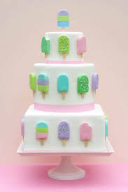 13 Ice Cream Themed Birthday Cakes Fondant Photo Ice Cream Cake