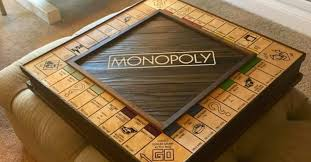Wooden Monopoly Board Game This Solid Wood Monopoly Board Is Hiding An Incredible Secret 4