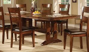 lavista dining table in dark oak
