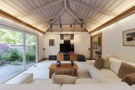 Vaulted Ceiling Living Room Lighting A Space With A Vaulted Ceiling Light My Nest