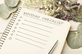 what you need for a wedding checklist planning the big day what you need to do and when the colony hq