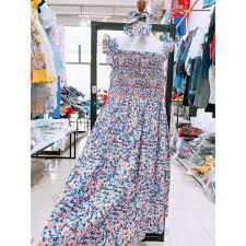 Đầm Smock xuất khẩu Tây Ban Nha cho bé gái chính hãng 330,000đ