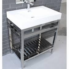 steel bathroom vanity. Stainless Steel Wall Mount Sink Fresh Vanity Bathroom Cabinet Vanitys