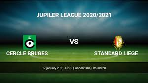 Cercle Bruges vs Standard Liege H2H 17 jan 2021 Head to Head stats  prediction