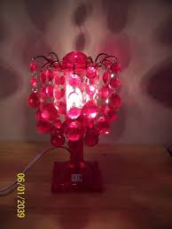 image of chandelier table lamp for girls