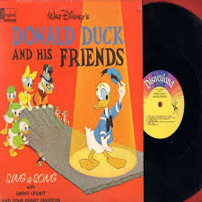 Small Picture Donald Duck And His Friends Sing A Song with Jiminy Cricket