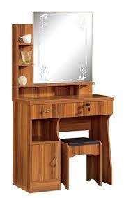 China MDF Dressing Table Melamine PVC Finish New Design Mirror Stand ...