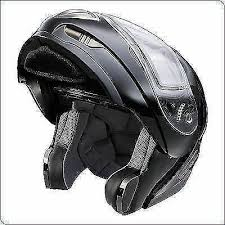 New 286117003 Polaris Snowmobile Modular Helmet Black Medium