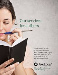 Self-Publishing Services - Fair and Transparent at tredition