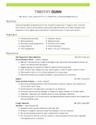 Store Manager Resume Sample Best Of Retail Assistant Manager Resume