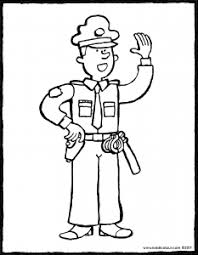 Politieagent Kiddicolour