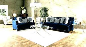 blue couch with white piping navy sectional sofa classy piece set made in home improvement s blue couch with white piping