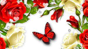 Red Butterfly Wallpapers (69+ ...