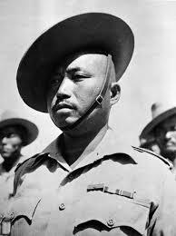 Image details. Click on any image to enlarge. NAM Image Number 83468. Subadar Lal Bahadur Thapa VC, 1st Battalion, 2nd Gurkha Rifles, 1943 (c - 83468
