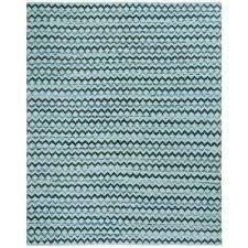 montauk turquoise blue black 8 ft x 10 ft area rug