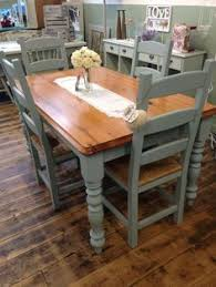 diy farmhouse pedestal table kitchen