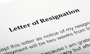 Template Of Letter Of Resignation Sample Resignation Letters 1 Unbreakable Rule Never