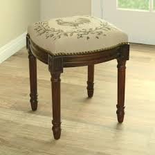 furniture vanity benches  upholstered vanity stool  vanity