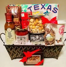 wele to texas custom gift basket