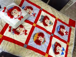 308 best Creaked barrel love images on Pinterest | Cookie, Barrel ... & OLD COUNTRY Cracker Barrel RAGGEDY ANN and ANDY Panel QUILT with Matching  PILLOW Adamdwight.com