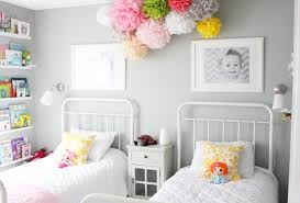 bedrooms for two girls. Amazing Chic Girls Twin Bedroom Bedrooms For Two