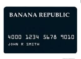 Banana Republic Credit Card Login Login Banana Republic Credit Card