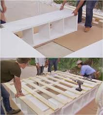 platform beds with storage. How To Build A Platform Bed With Storage #furniture #bed #DIY Platform Beds Storage