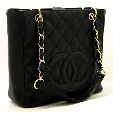 CHANEL Caviar Chain Shoulder Bag Shopping Tote Black Quilted g52 ... & Please let us explain about our items which are authentic CHANEL bags. It  is said that CHANEL bags used in Japan are in better condition than the  ones in ... Adamdwight.com