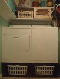 diy washer dryer stand