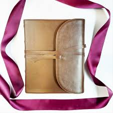 looking for a wedding guest book this beautiful genuine leather journaling is