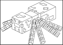 Small Picture Minecraft Herobrine Coloring Pages GetColoringPagescom