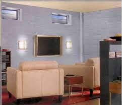 basement wall colors cinder block walls