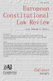 European Constitutional Law Review Cambridge Core