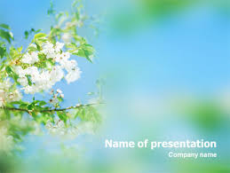 Spring Powerpoint Springtime Free Presentation Template For Google Slides