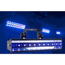 american dj led uv go rechargeable lithium battery powered strobe light fixture