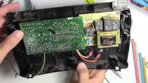 how to fix a garage door opener board