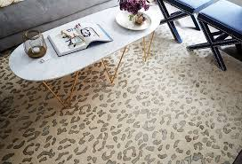 image of dash and albert animal print rugs