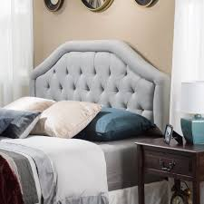 Angelica Adjustable Full/ Queen Tufted Fabric Headboard by Christopher  Knight Home - Free Shipping Today - Overstock.com - 15873002