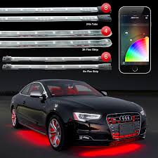 exterior led lighting car. xkglow xkchrome ios android app bluetooth control professional light kit for undercar exterior interior and wheel led lighting car o