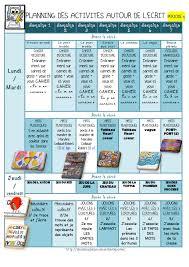 Planning Vers L Crit Gs P5 La Classe De Luccia