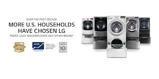 Frontload Washers Lg Front Load Washer Washing Machine Solutions Lg Usa