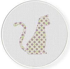 Cat Cross Stitch Patterns Best Pattern Cat Cross Stitch Pattern Daily Cross Stitch